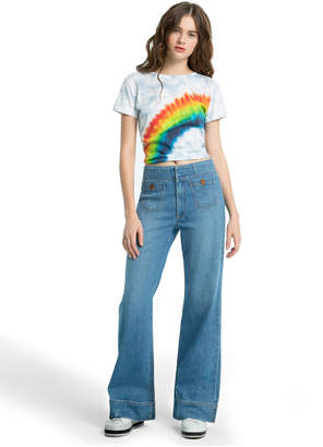 33be16ae63a Alice + Olivia GORGEOUS WIDELEG JEAN WITH POCKETS
