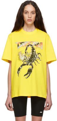 MSGM Yellow Dream T-Shirt