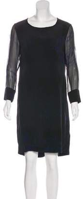 Raquel Allegra Knee-Length Silk Dress