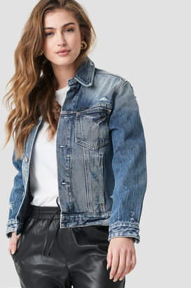Calvin Klein Foundation Omega Trucker Jacket Minerva Blue
