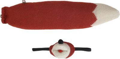 Oeuf Knit Fox Mask & Tail Set