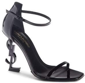 Saint Laurent Opyum Ankle Strap Sandal