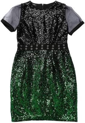 Diesel Gradient Sequined Tulle Dress