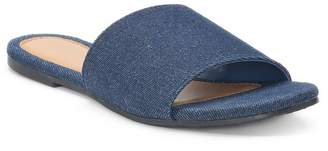 Sonoma Goods For Life Women's SONOMA Goods for Life Denim Slide Sandals