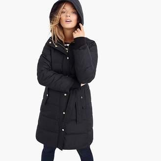 J.Crew Mercantile tie-waist puffer coat