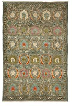 Suzani Collection Oriental Rug, 6'1 x 9'1