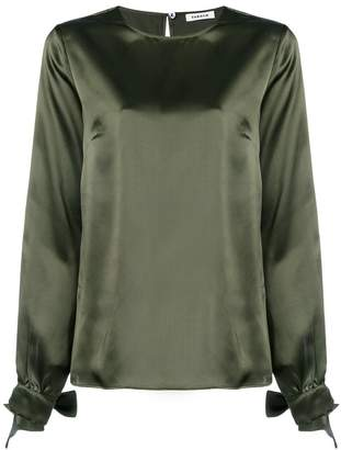 P.A.R.O.S.H. long-sleeve shift blouse