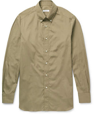 Boglioli Button-Down Collar Cotton-Poplin Shirt