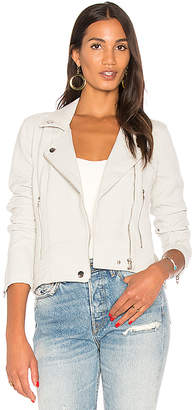 BLANKNYC Moto Jacket in Gray $98 thestylecure.com