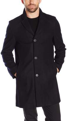 Tommy Hilfiger Men's Wool Melton Unfilled Top Coat