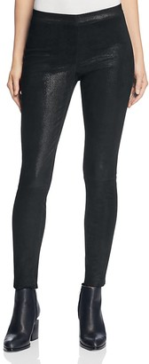 J Brand Edita Leather Leggings $948 thestylecure.com