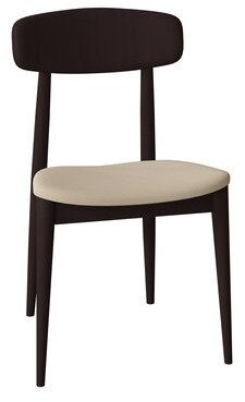 Corrigan Studio Tylor Wood Upholstered Dining Chair Corrigan Studio