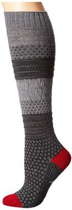 Smartwool Popcorn Cable Knee Highs Women's Knee High Socks Shoes
