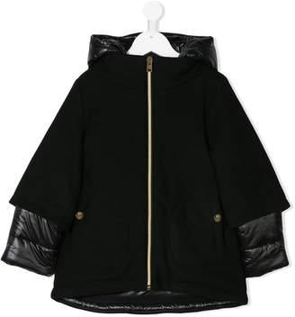 Herno Kids hooded padded coat
