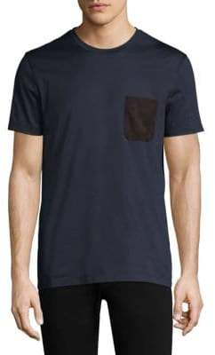 Salvatore Ferragamo Short-Sleeve Cotton Tee