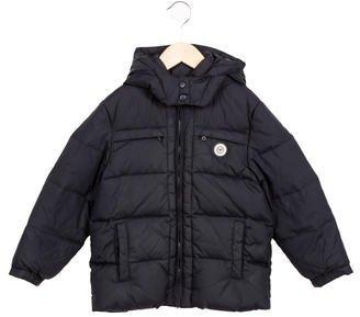 Armani JuniorArmani Junior Boys' Hooded Down Coat