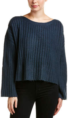 French Connection Riva Cropped Wool-Blend Sweater
