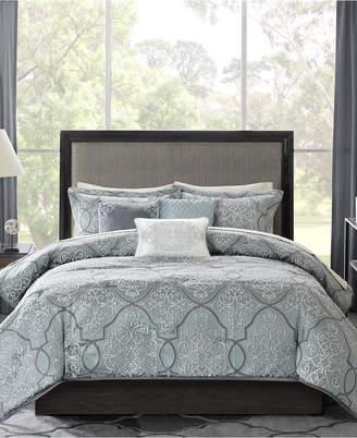 Madison Park Lavine 6-Pc. King/California King Duvet Cover Set Bedding