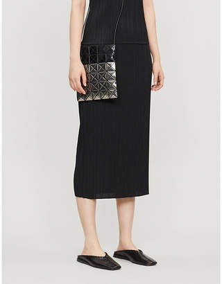 Pleats Please Issey Miyake Basics pleated midi skirt
