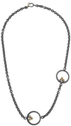 Todd Reed Diamond Station Necklace