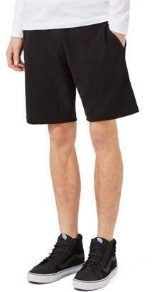 Men's Topman Cutoff Jersey Shorts $35 thestylecure.com