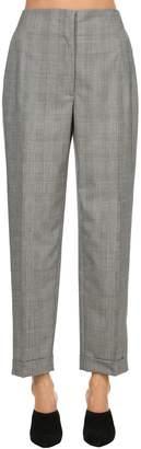 Salvatore Ferragamo Wool Prince Of Wales Pants