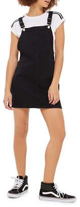 Topshop MOTO Bib Pocket Pini Dress