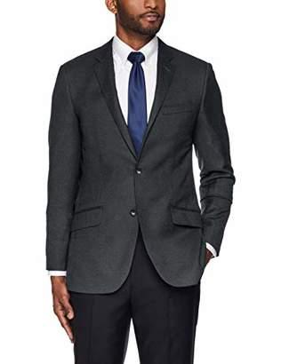 Buttoned Down Men's Slim Fit Super 110 Italian Wool Hopsack Blazer
