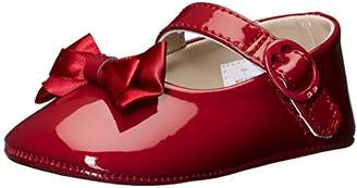 Baby Deer Girls' Patent SM with Bow Mary Jane-K