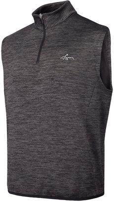 Greg Norman For Tasso Elba Men's Hydrotech Quarter-Zip Vest, Only at Macy's $70 thestylecure.com