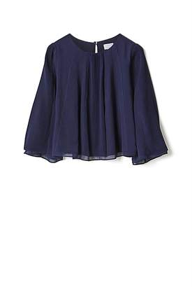 Witchery Spliced Pleated Top