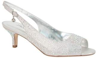 J. Renee Impuls Crystal Embellished Slingback Pump - Multiple Widths Available