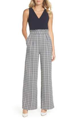 Chelsea28 Wide Leg Tweed Jumpsuit (Regular, Plus & Petite)