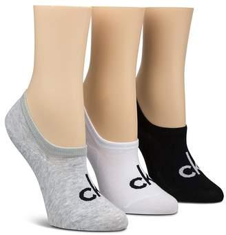 Calvin Klein Sporty Logo Ankle Socks, Set of 3