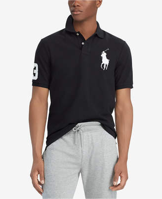 7490f6f9 Polo Ralph Lauren Men Big & Tall Classic Fit Big Pony Mesh Cotton Polo