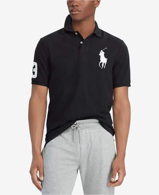 Polo Ralph Lauren Men Big   Tall Classic Fit Big Pony Mesh Cotton Polo 8b10c60da1fc