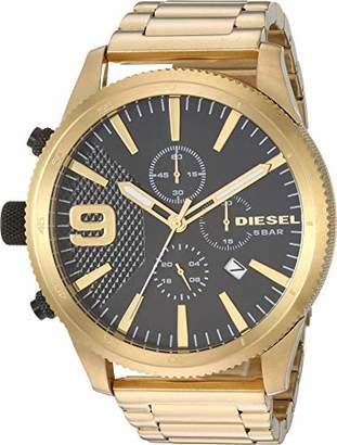 Diesel Men's 'Rasp Chrono 50mm' Quartz Stainless-Steel-Plated Watch