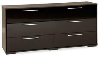 SOUTH SHORE Mikka Six-Drawer Double Dresser