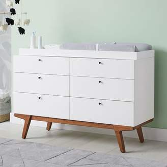 west elm Modern 6-Drawer Changing Table