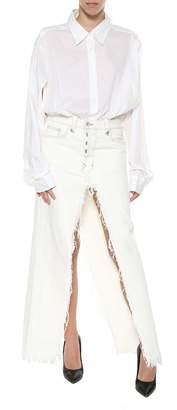 Taverniti So Ben Unravel Project Denim Long Skirt