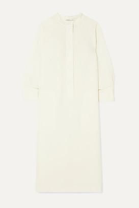 Agnona Cady Shirt Dress - Ivory