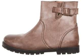 Birkenstock Leather Ankle Boots