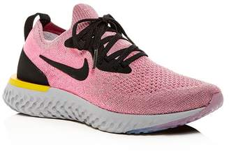 70af2af3d52 Nike Women s Epic React Flyknit Lace-Up Sneakers