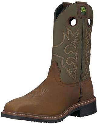 John Deere Men's JD4716 Mid Calf Boot