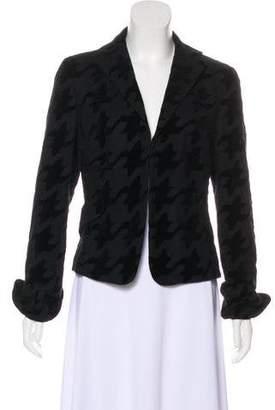Akris Punto Textured Long Sleeve Blazer