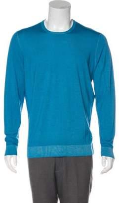 Salvatore Ferragamo Wool & Silk Scoop Neck Sweater wool Wool & Silk Scoop Neck Sweater