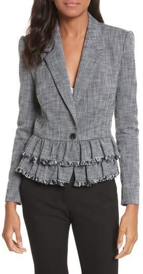 Slub Suiting Jacket