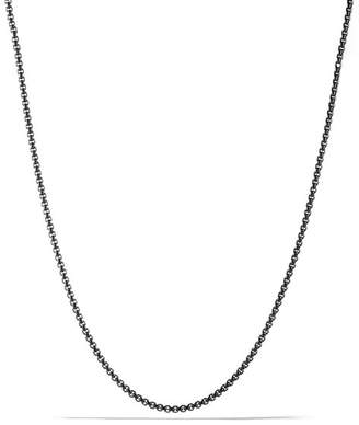 "David Yurman Small Box Chain Necklace, 26"""