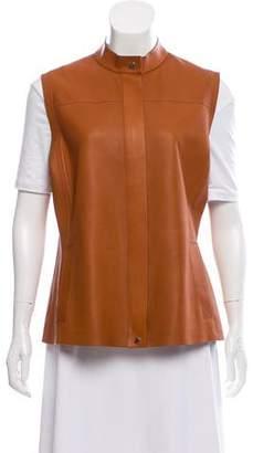 Loro Piana Structured Leather Vest