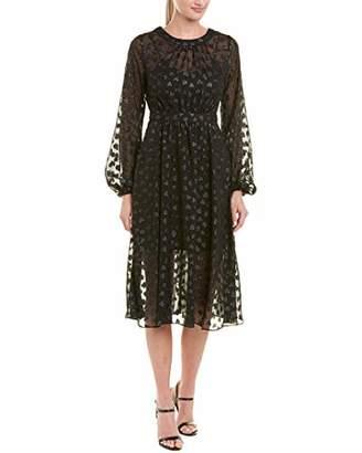AVEC LES FILLES Women's Tea Length Heart Dress